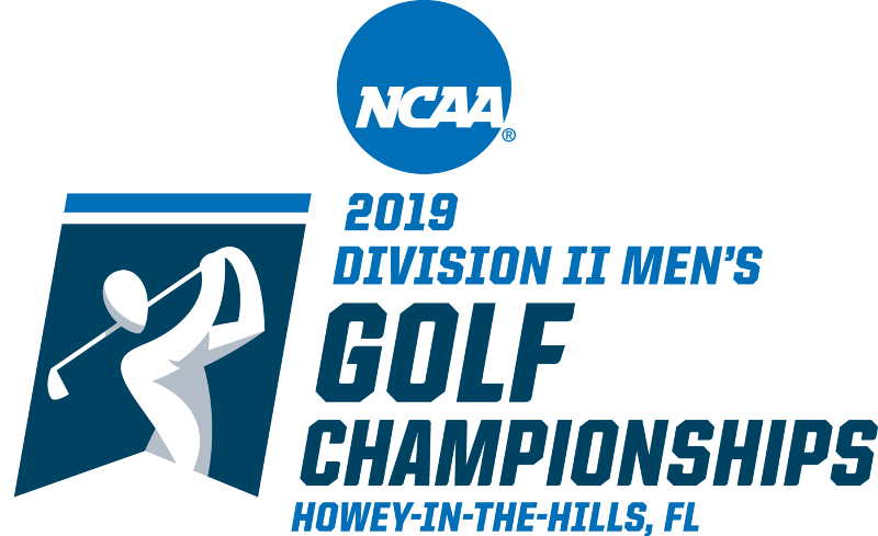 2019 NCAA DIVISION II MEN'S GOLF CHAMPIONSHIPS LOGO