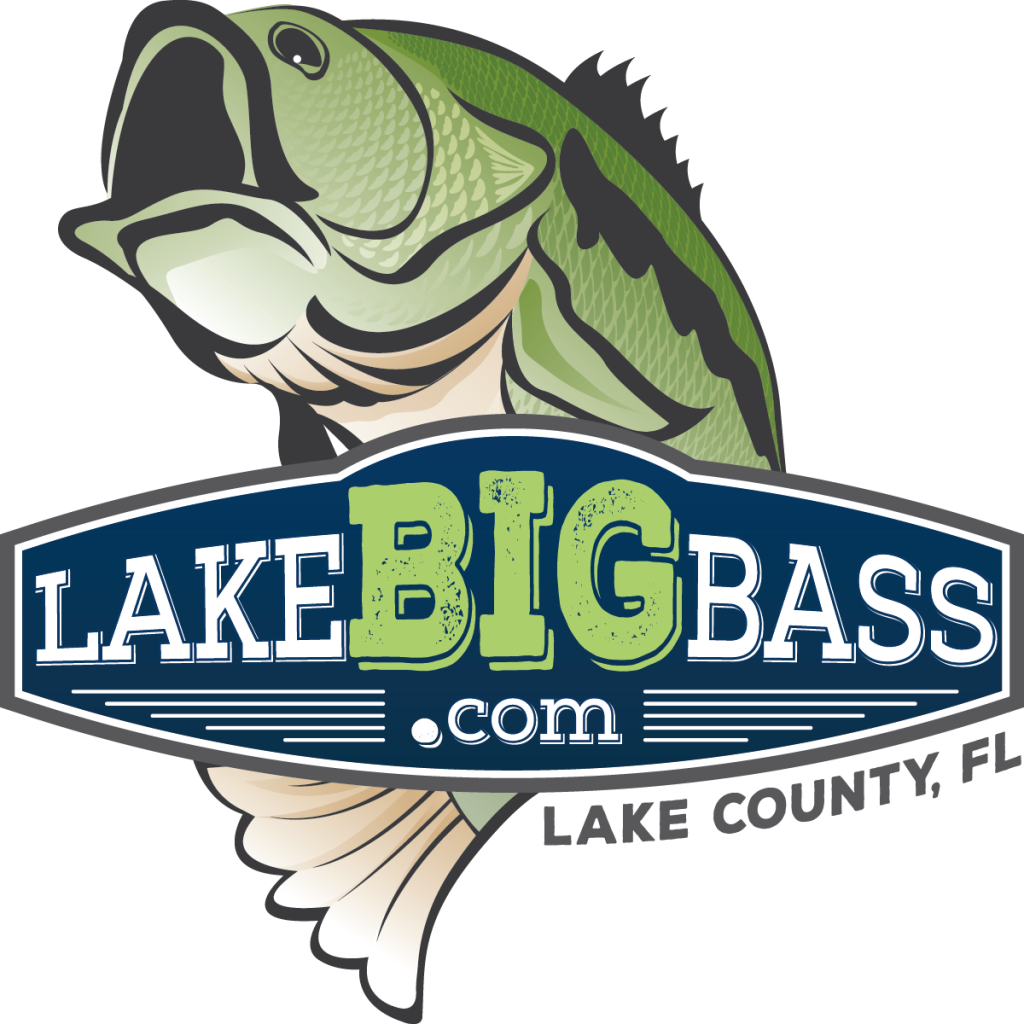 LakeBIGBass.com - Lake County, FL - Vertical Logo