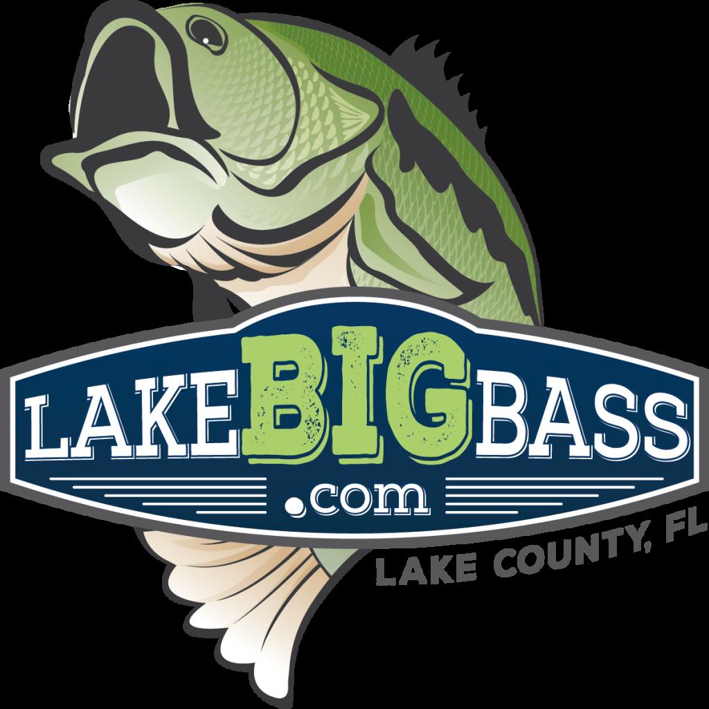 LakeBIGBass.com - Lake County, FL - Vertical Logo
