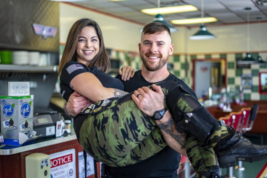 Combat Café strives to honor Lake County's military heroes