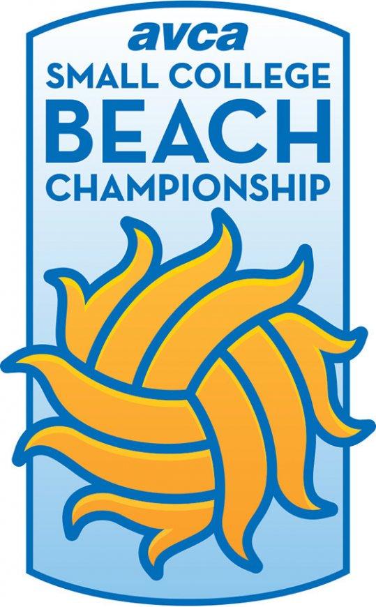 AVCA Small College Beach Championships Logo