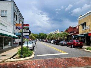 Photo of downtown Mount Dora.