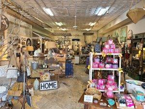 Shop interior in Historic Mount Dora, FL.