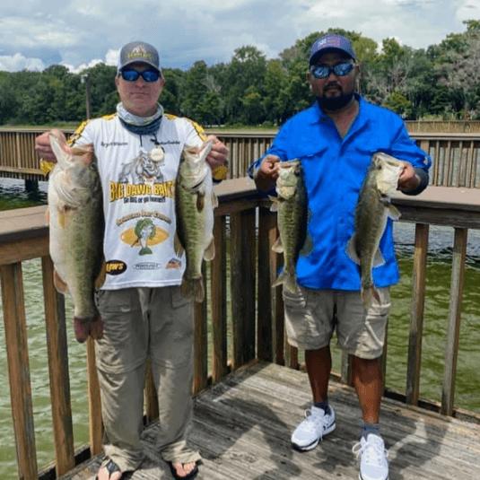 8 lbs 13 oz | Lake Harris | Bryan Mason