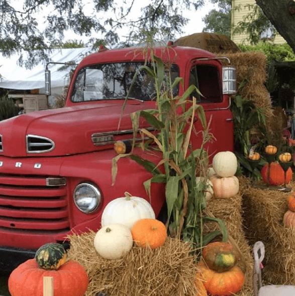 Renningers, Pumpkins, Truck, Fall