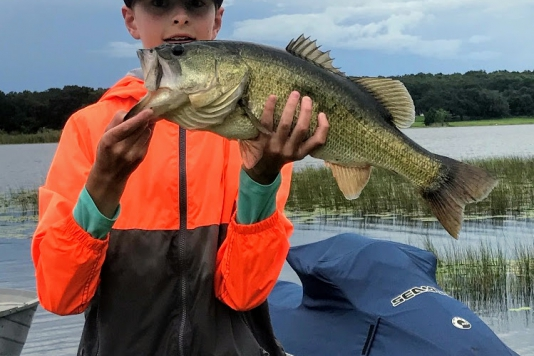 Top 5 Heaviest Bass Caught in Lake County, FL – September, 2020