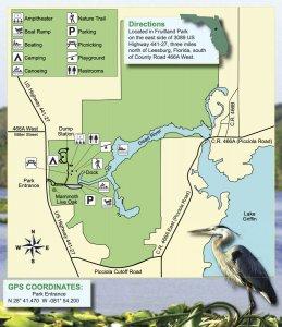 Map diagram of Griffin Park.