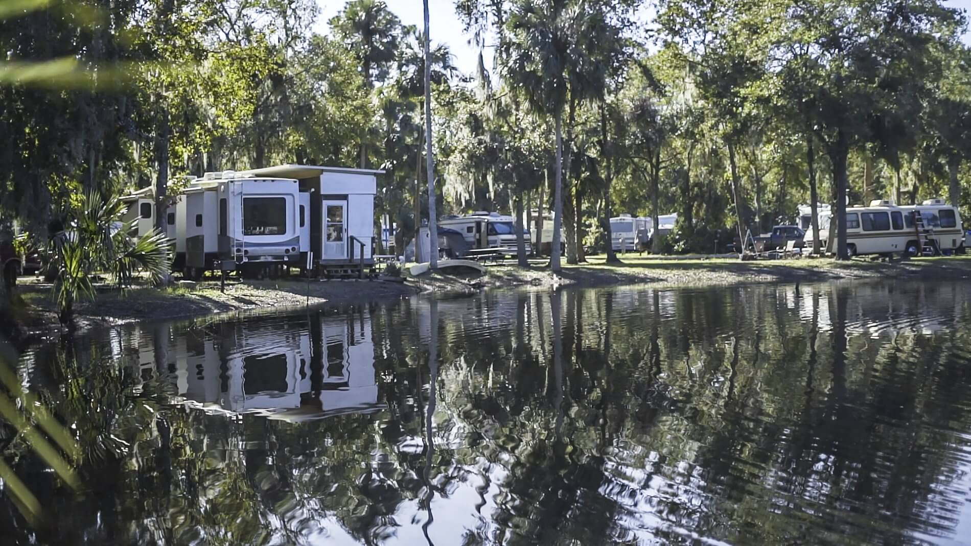 Astor Landing, camping