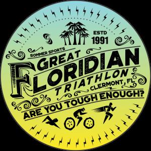 Great Floridian Triathlon event logo