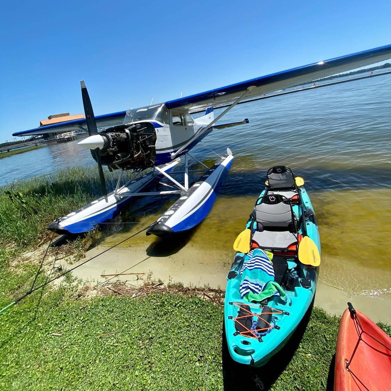 Kayaking Lake Dora
