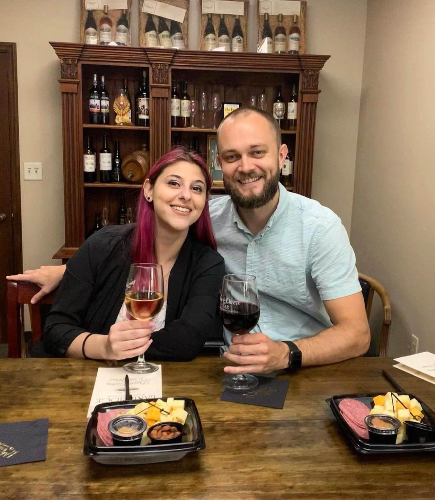 Couple at the Lakeridge Winery